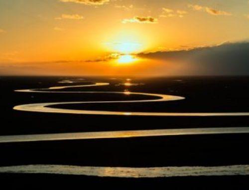 時間之河。River Of Time.